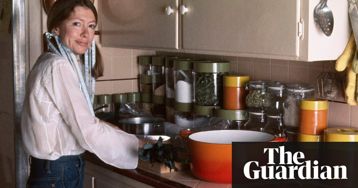Frozen in time: Joan Didion in her California kitchen, October 1972