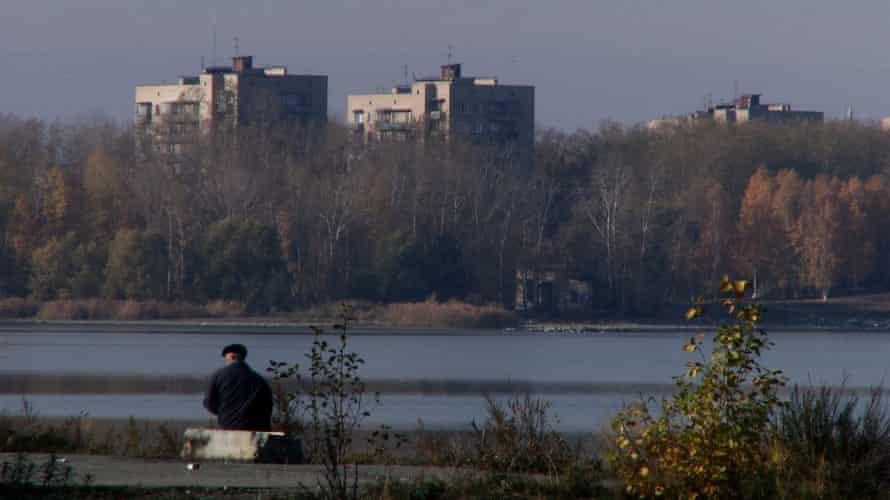 City 40 - Ozersk lake