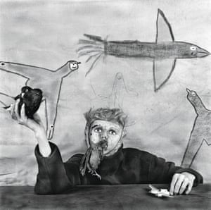 """Take Off , 2012, by Roger BallenAmerican artist Roger Ballen points to Samuel Beckett as the key influence on his work. """"My photographs evoke the absurdity of the human condition, but they are also records of a personal psychological journey. For me, photography is a way of looking in the mirror."""""""