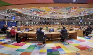 27 EU leaders are meeting in person for a summit to discuss the EU's long-term budget and coronavirus recovery plan.