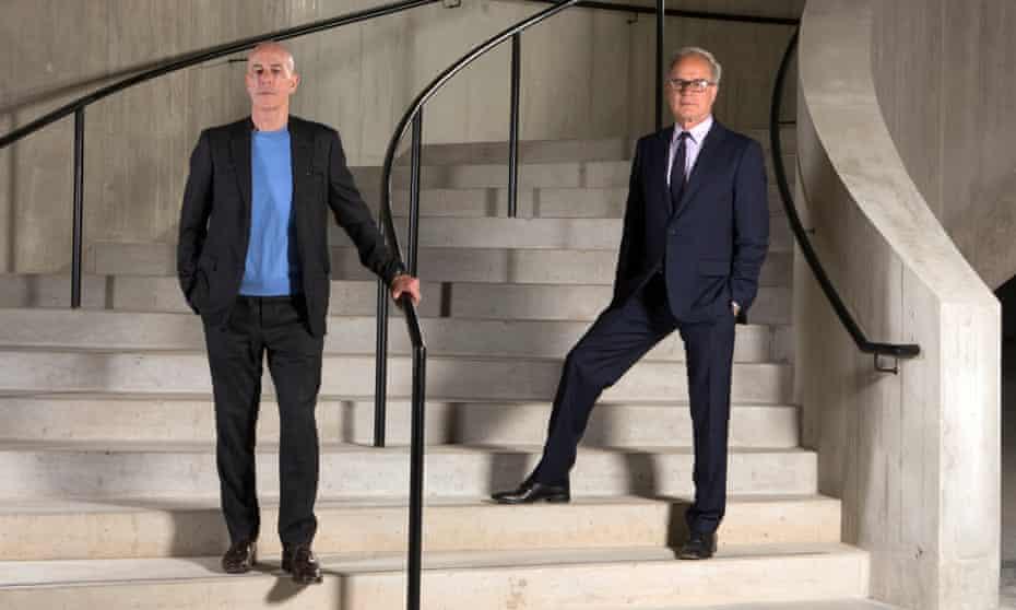 Jacques Herzog, left, and Pierre de Meuron.