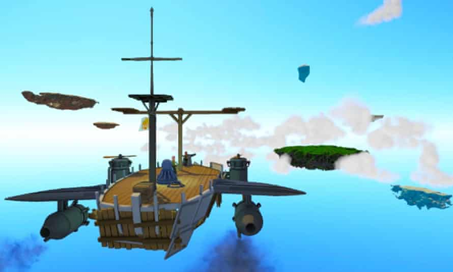 Worlds Adrift, a huge multiplayer online game built using Improbable's SpatialOS.