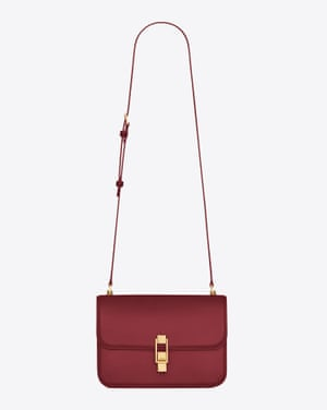 Super chic and timeless, Saint Laurent's beautifully crafted satchel-style Carre bag is the shape of the season that will last a lifetime. From GBP1,365, ysl.com