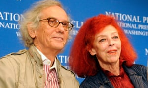 Cristo with his wife and s artistic partner Jeanne-Claude, pictured in 2007.