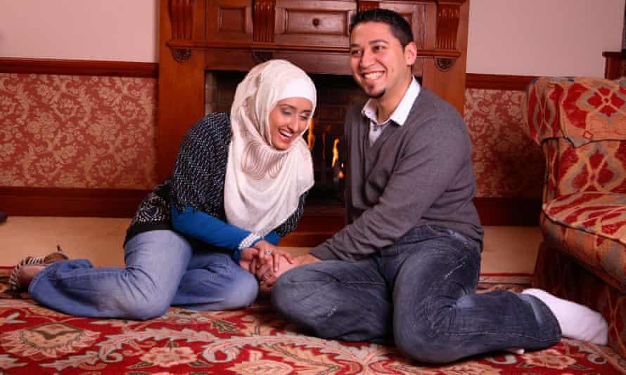 Couple Adam and Saffiya