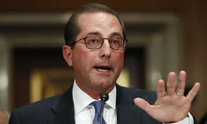 Alex Azar, President Trump's secretary of health and human services