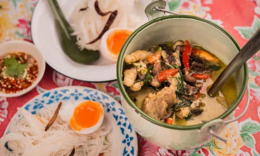 Broth dish at Err Urban Rustic Thai, Bangkok.
