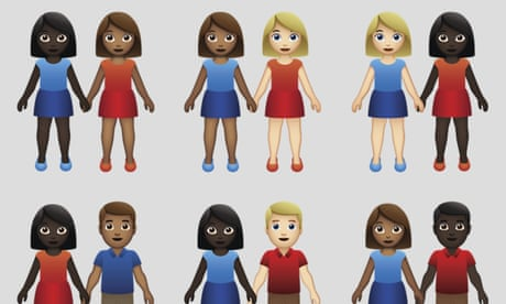 New interracial couple emoji mark victory for partners of color