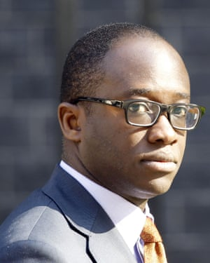 Sam Gyimah, justice minister