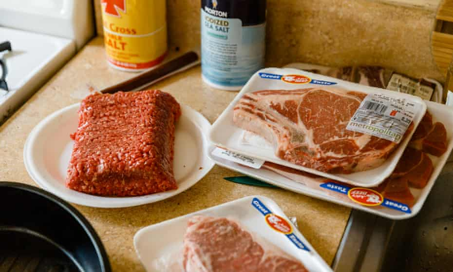 Ground beef and ribs: Jordan Peterson swears by it.