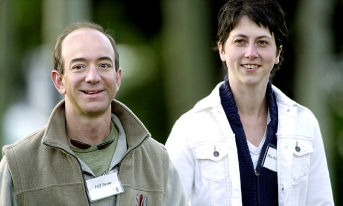 MacKenzie Bezos: divorce from Amazon CEO could make her world's
