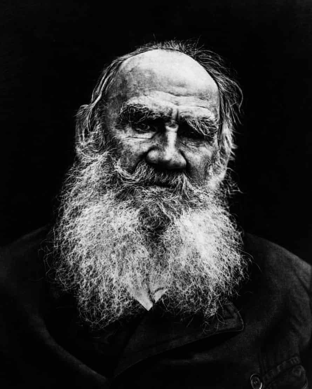 Leo Tolstoy, circa 1908.