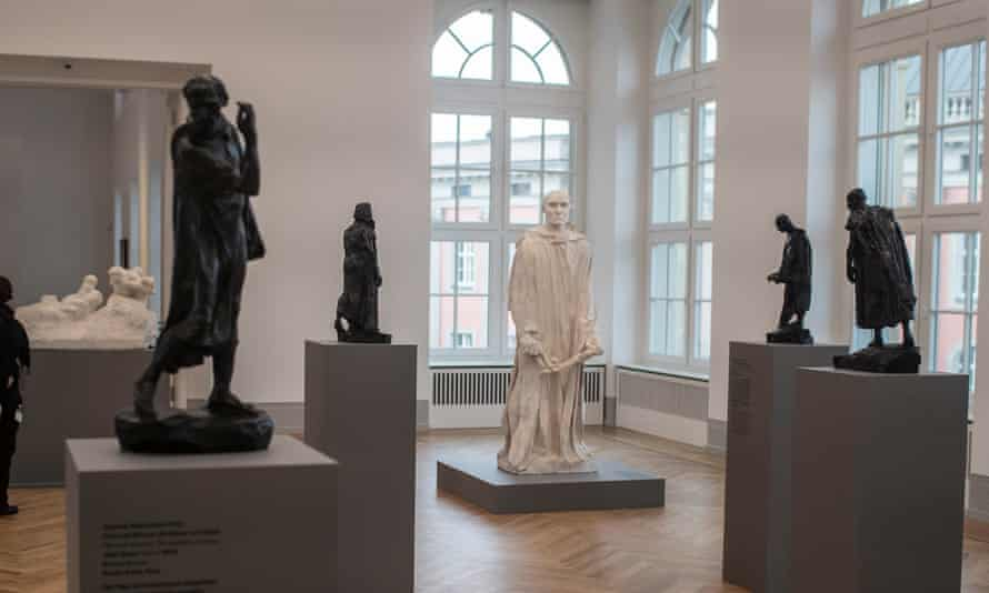 Sculptures by Auguste Rodin at the Barberini Museum.