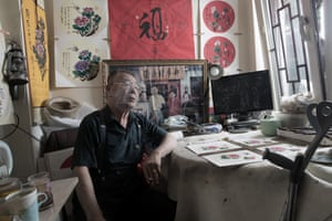 Shop owner Chong Li now runs a small business in Beijing.