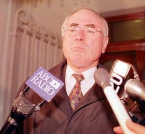 John Howard in Melbourne