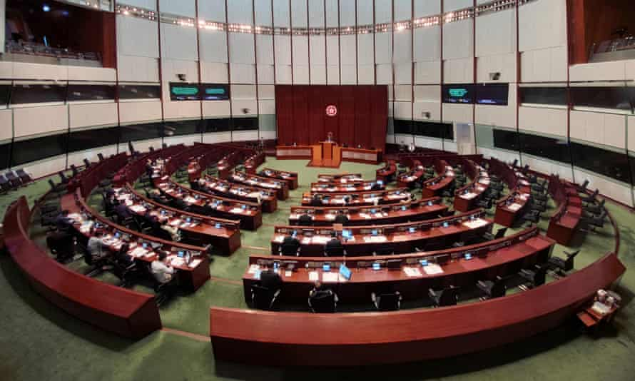 Four Hong Kong legislators were expelled from their positions last week after China imposed new rules in the city.