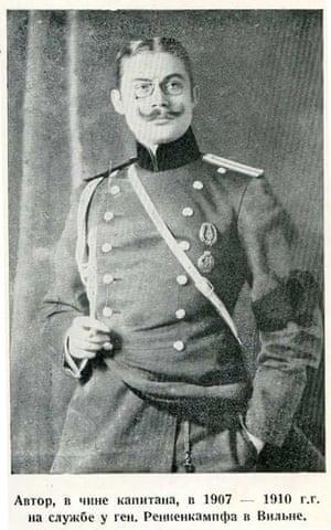 Gen Vladimir von Dreier, who fought for the White Army against the Bolsheviks.