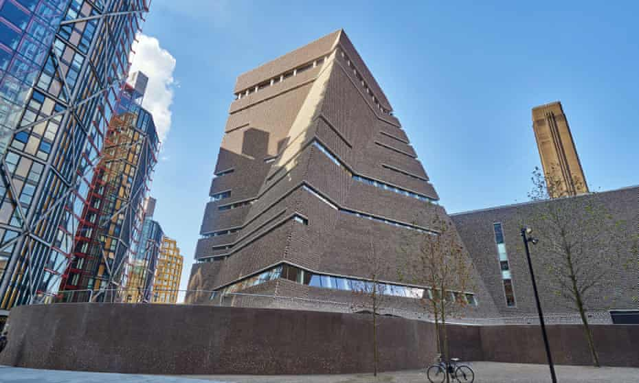 Like a brick dalek … the Switch House at Tate Modern, London.
