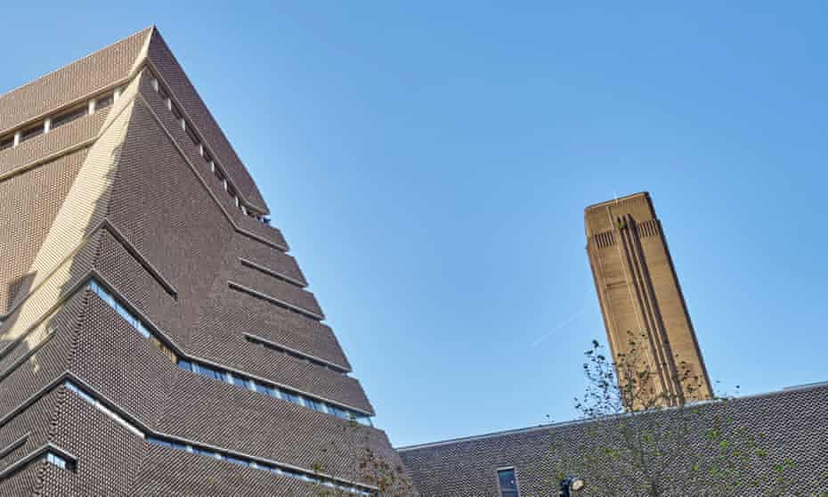 Tate Modern's extension opened in June 2016