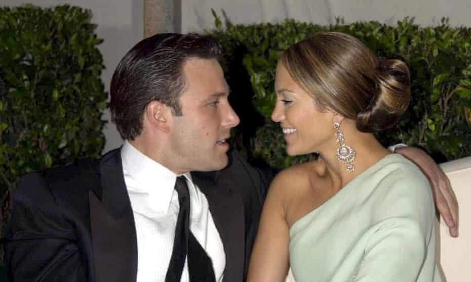 Ben Affleck and Jennifer Lopez in 2003
