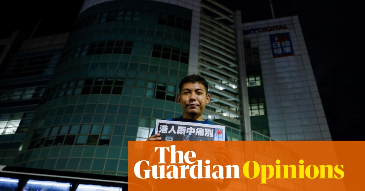 The Guardian view on Hong Kong's Apple Daily: gone but not forgotten