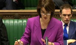 Health minister Jane Ellison