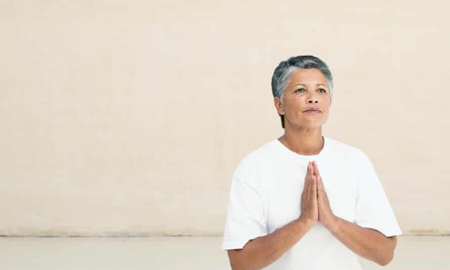 Chill out … meditation can fight stress and improve memory.