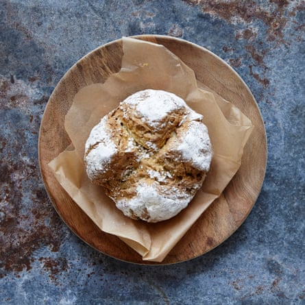 Jack Monroe's coconut milk soda bread requires just four common ingredients.