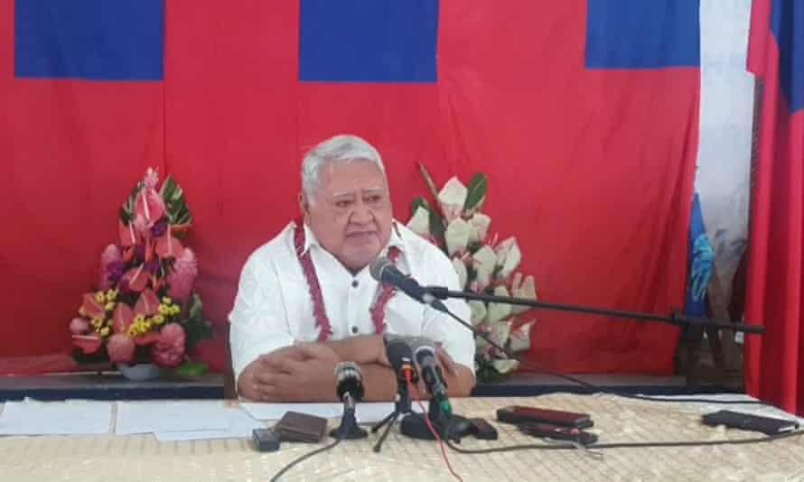 Туйлаепа Сайлеле Малілеґаої, який був прем'єр-міністром Самоа понад 22 роки