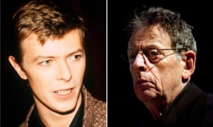 David Bowie and Philip Glass