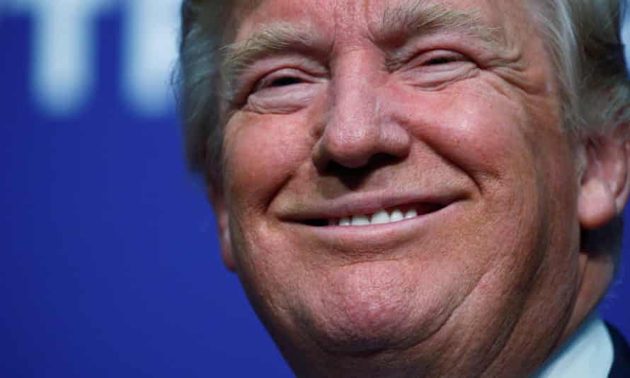 Donald Trump in Sioux City, Iowa.