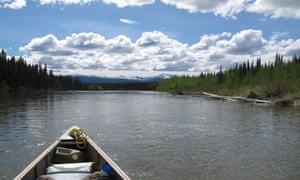 Adam Weymouth followed the Yukon river salmon run in his kayak.