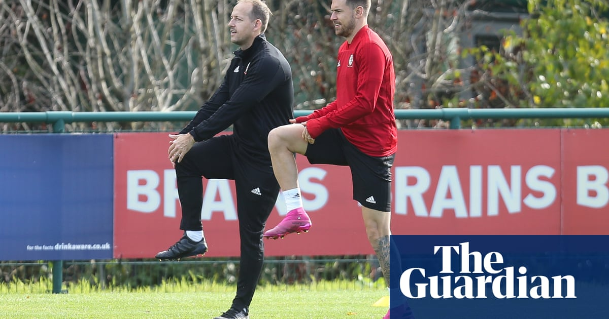 Aaron Ramsey will miss Wales's Euro 2020 qualifier against Slovakia