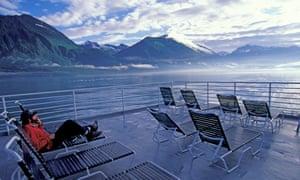 Hoa Kỳ, Alaska, Hoàng tử William Sound, gần Valdez, Alaska State phà