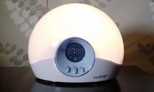The Lumie alarm side light.