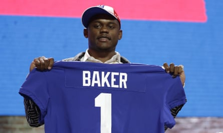 DeAndre Baker was drafted in the first round by the New York Giants in 2019.