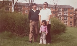 Sarfraz Manzoor with his father and uncle.