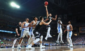 North Carolina, who have been implicated in academic fraud, beat Gonzaga in last year's NCAA Tournament final