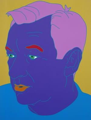 A mesmerising treasure trove ... Michael Craig-Martin's Self-Portrait (Purple)
