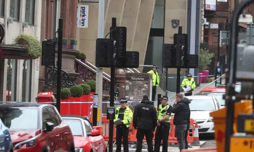 Asylum seekers staying in Park Inn in Glasgow, site of Friday's knife attack, have been unable to return to recover their possessions.