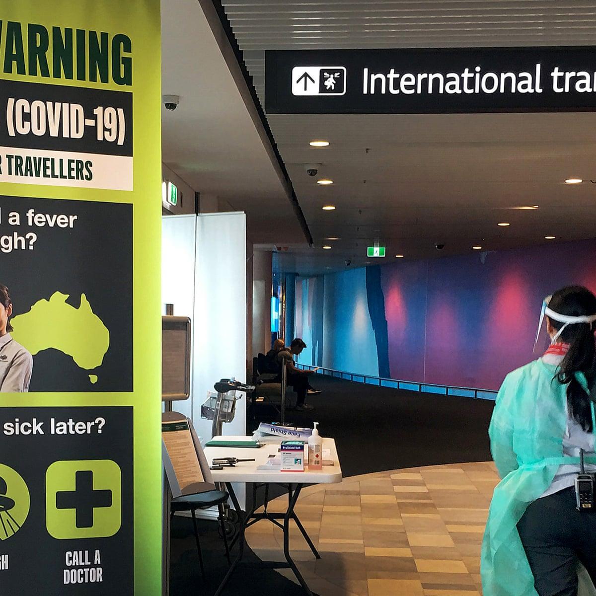 How Australia Will Enforce Coronavirus Self Isolation Rules For Overseas Arrivals Coronavirus Outbreak The Guardian