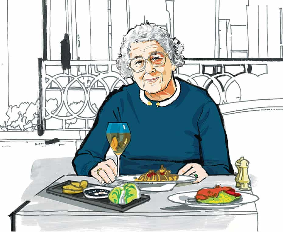 Lunch with Judith Kerr OFM Observer Food Monthly