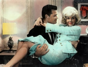 James Garner and Doris Day in the 1963 movie Move Over darling