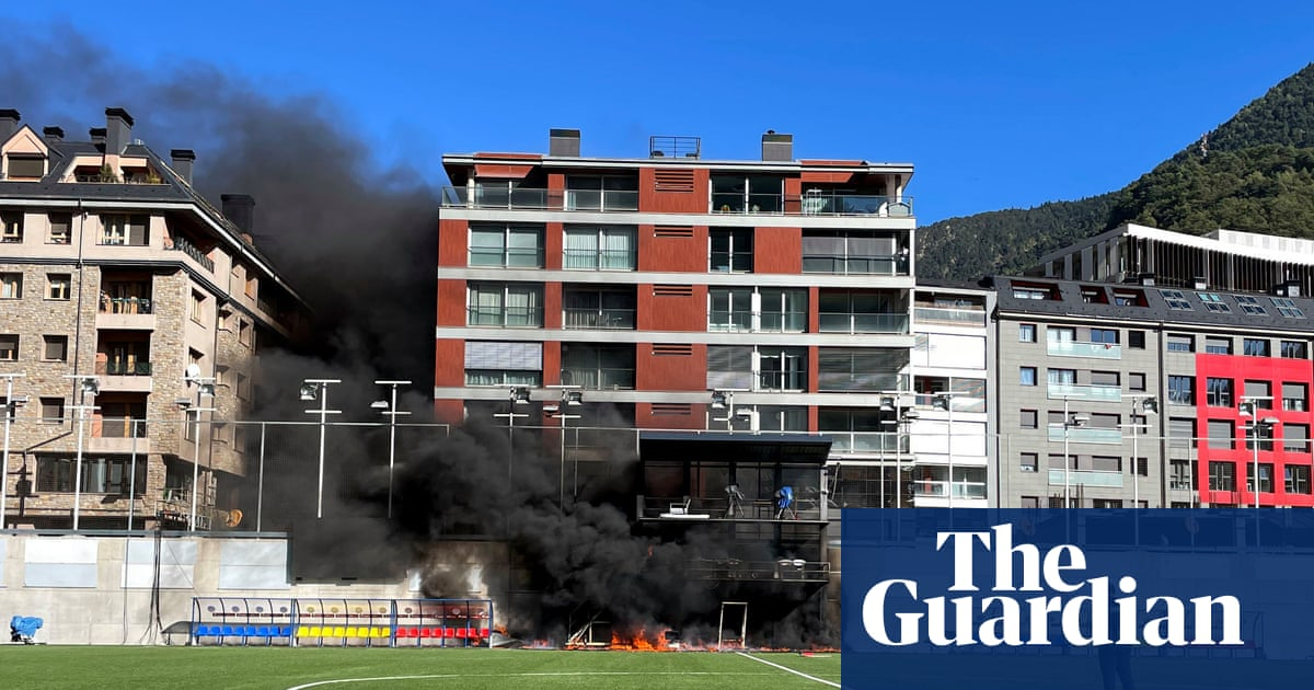 Fire breaks out at Andorra stadium before England's World Cup qualifier