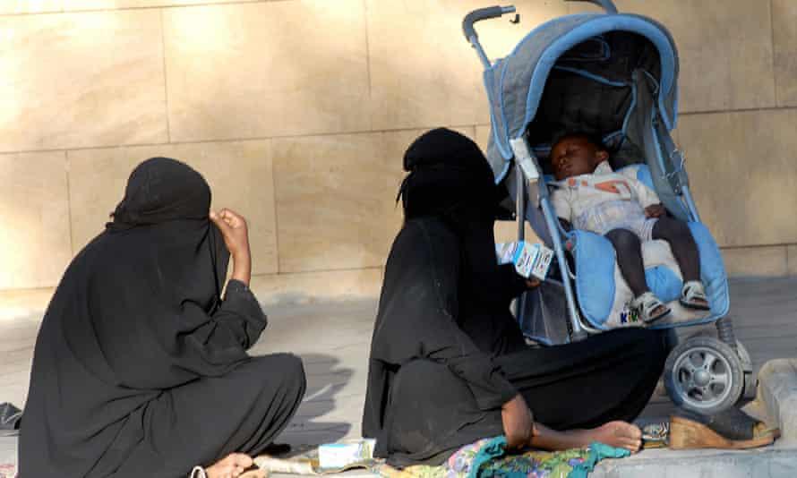 An estimated 2 to 4 million Saudis live beneath the poverty line.