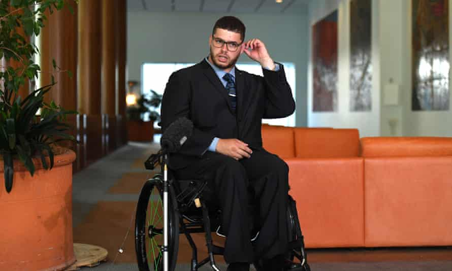 Jordon Steele-John says it's nobody else's business if a disabled person wants to put an aspect of sexual expression into their NDIS plan