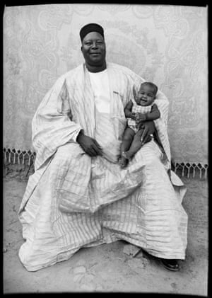 Untitled, 1949 – 1951 Man in traditional boubou dress with baby