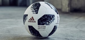 Russia 2018 - Telstar 18 Adidas reveals Telstar 18 – the official match ball for the 2018 World Cup Russia. A reinvention of the classic 1970 Telstar, it features the latest technology and an innovative NFC chip to enable digital interaction