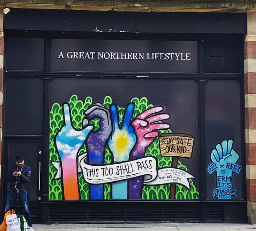 Street art in Manchester.