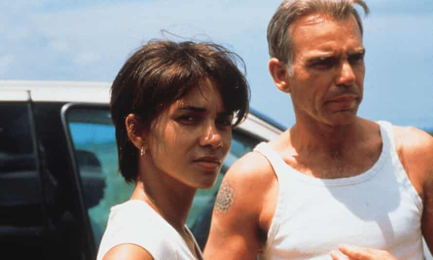 Halle Berry and Billy Bob Thornton in Monster's Ball.